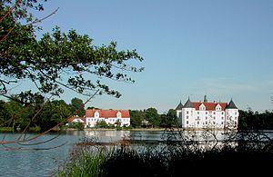Southern Schleswig - Residence of the Danish kings at Glücksburg Castle