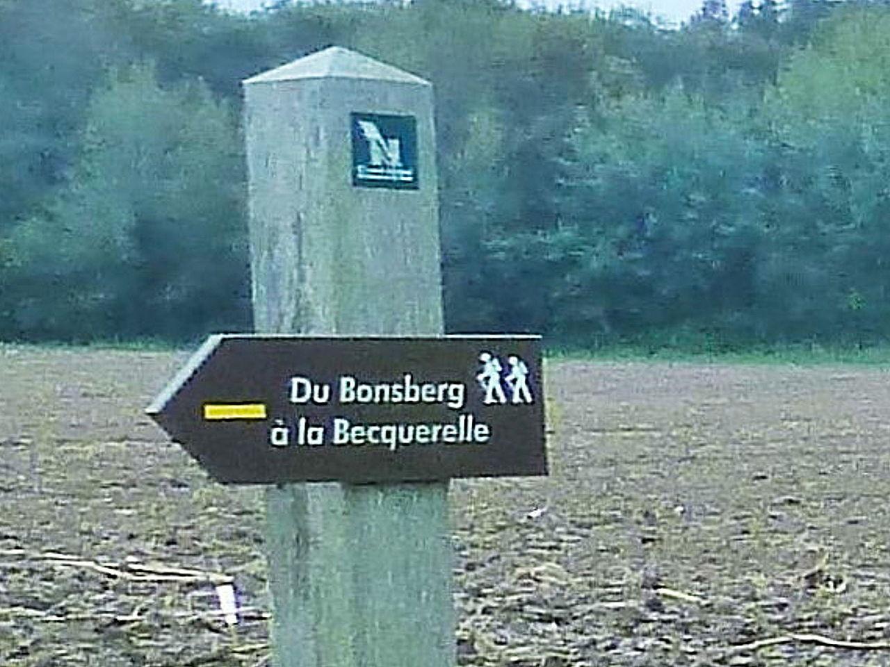 Du Bronsberg à la Becquerelle