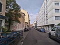 Lyon 7e - Rue Élie Rochette direction nord (mai 2019).jpg