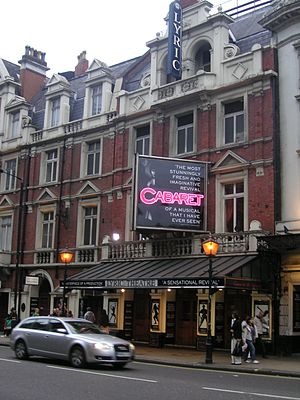 Lyric Theatre, London - The Lyric Theatre in April 2007
