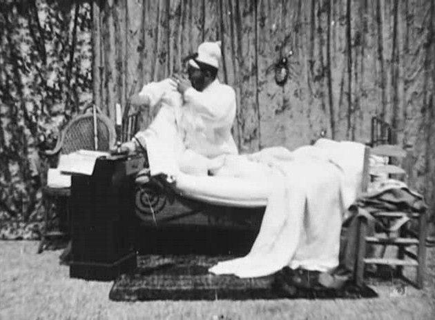 Méliès, Une nuit terrible (Star Film 26, 1896)