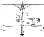Müller G.M.G. II 3-view Aero Digest October 1929.png