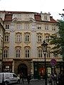 Měšťanský dům U sv. Tří králů, Teyflův dům (Staré Město), Praha 1, Melantrichova 15, Staré Město.JPG