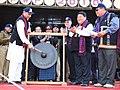 M.M. Pallam Raju and the Aruncahl Pradesh Chief Minister Shri Dorjee Khandu inaugurated the 3-day Pangsau Pass winter festival, at Nampong, Changlang in Arunachal Pradesh on January 20, 2010.jpg