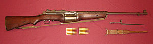 Repeating rifle - M1941 Johnson rifle