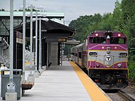 MBTA 1138 closeup at new Littleton station.JPG