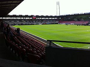 FC Midtjylland - Stadium of FC Midtjylland. MCH Arena