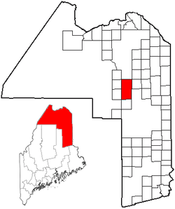 Location of Ashland, Maine