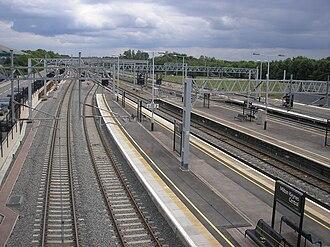 Milton Keynes Central railway station - Image: M Kcentral