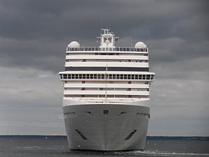 MSC Poesia Bow Tallinn 11 July 2012.JPG