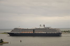 MS Westerdam in oktober 2008
