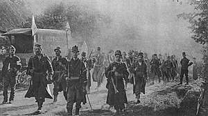 Battle of the Yser - Image: M 40 5 troupes belges St Trond Tirlemont
