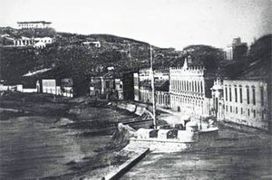 Nossa Senhora da Graça incident - Macau waterfront (1844)