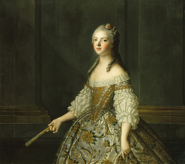Madame Adélaïde de France tenant un éventail by the studio of J.-M. Nattier.jpg