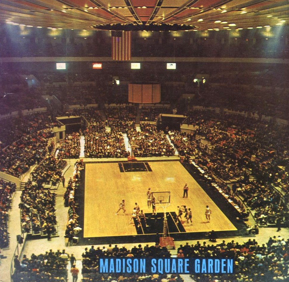 Madison square garden howling pixel Madison square garden basketball