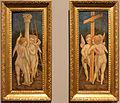 Maestro dei cartellini, angeli con gli strumenti della passione, 1445-55 ca. (bergamo) 01.JPG