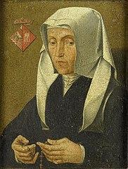 Portrait of Magdalena van Werdenborgh (1464-1538)