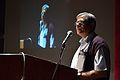 Mahidas Bhattacharya Addressing - Inaugural Function - Bengali Wikipedia 10th Anniversary Celebration - Jadavpur University - Kolkata 2015-01-09 2689.JPG