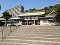 Main Gate of Terukuni Shrine.JPG
