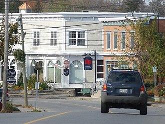 Hudson, Quebec - Image: Main Road, Hudson, Quebec