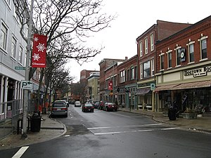 Central Gloucester Historic District - Main Street looking west