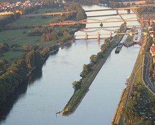 Mainz rail bypass railway line
