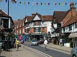 Main street, Lyndhurst - geograph.org.uk - 1393977.jpg
