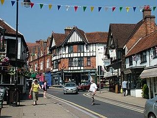 Lyndhurst, Hampshire Human settlement in England