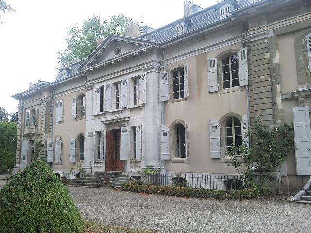 Дом Вольтера в поместье Ферне