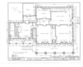 Major General Solomon Cowles House, Main Street, Farmington, Hartford County, CT HABS CONN,2-FARM,6- (sheet 2 of 11).png
