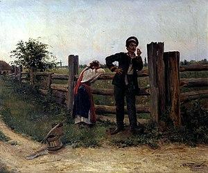 Aleksandr Makovsky - Image: Makovskiy AV Nadoela 1897ODES