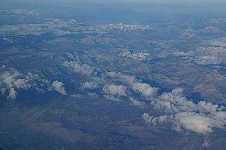 Malësia - View of mountains in the region.