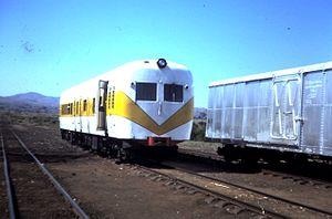 Malawi Railways - Malawi Railways diesel railcar, 1984