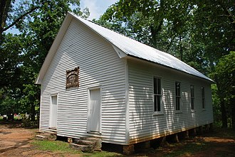 Mammoth Cave Baptist Church and Cemetery - Image: Mammoth Cave Baptist Church NPS