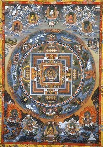 Glossary of Japanese Buddhism - Image: Mandala gross