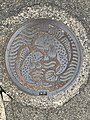 Manhole cover of Saga, Saga.jpg