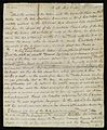 Manuscript account of Lord Nelson's fatal wound, 1805 (?) Wellcome L0014867.jpg