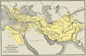 Daniel - Interpretação Historicista do livro de Daniel 350px-Map-alexander-empire