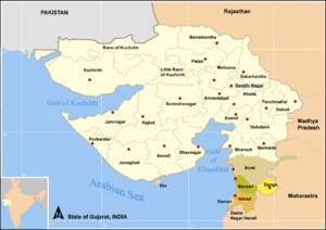 Valsad district - Districts of South Gujarat