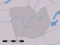 Location of Aarlanderveen
