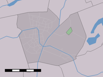 Aarlanderveen - Image: Map NL Alphen aan den Rijn Aarlanderveen