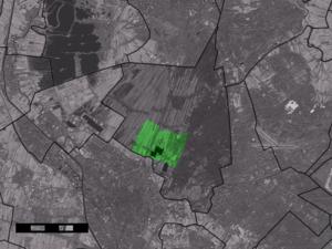Groenekan - Image: Map NL De Bilt Groenekan