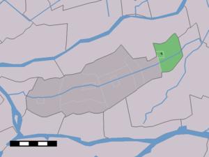 Goudriaan - Image: Map NL Graafstroom Goudriaan