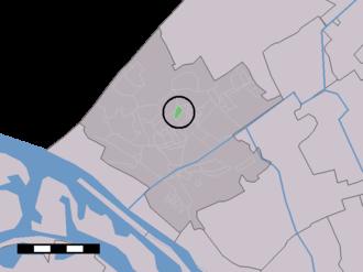 Rolpaal - Image: Map NL Westland Rolpaal