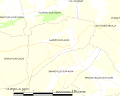 Map commune FR insee code 14353.png
