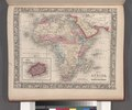 Map of Africa, showing its most recent discoveries; Island of St. Helena (inset). NYPL1510838.tiff