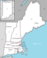 Map of Hockey East members beginning with 2013-14.png