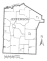 Map of Jefferson County, Pennsylvania No Text.png