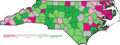 Map of North Carolina showing Wikipedia IP editing activity 2018.png