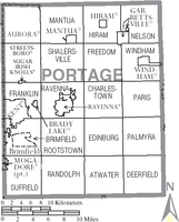 Municipalities and townships of Portage County